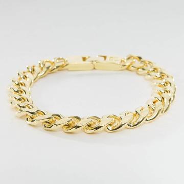 KING ICE Náramky Gold_Plated 10mm Miami Cuban Curb zlatá