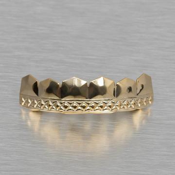 KING ICE Overige Diamond Pattern goud