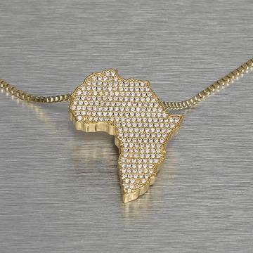 KING ICE Retiazky Africa zlatá