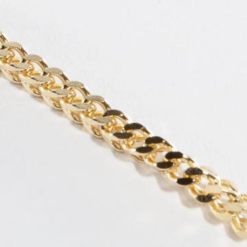 KING ICE Retiazky Gold_Plated 5mm Franco zlatá