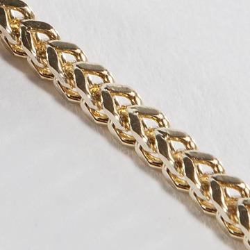 KING ICE Retiazky Gold_Plated 2,5mm Franco zlatá