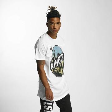 Kingin T-shirt LA Streets bianco