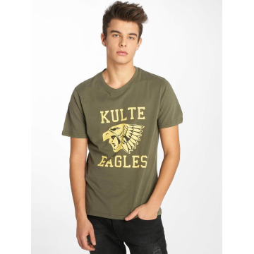 Kulte T-Shirt Eagles khaki