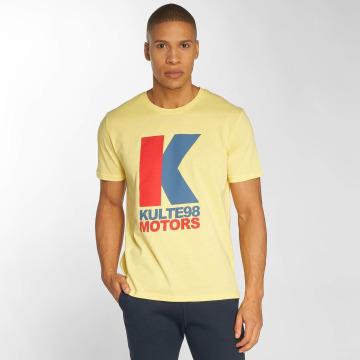 Kulte T-Shirt Motor yellow