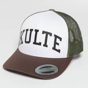 Kulte Trucker Caps Corpo College brazowy