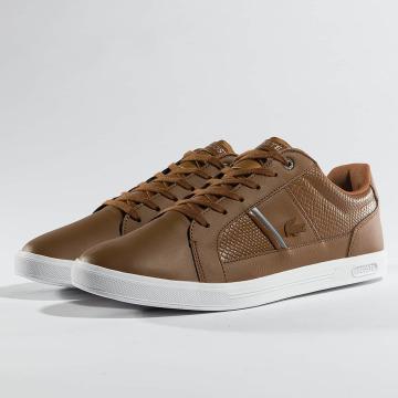 Lacoste Baskets Europa brun
