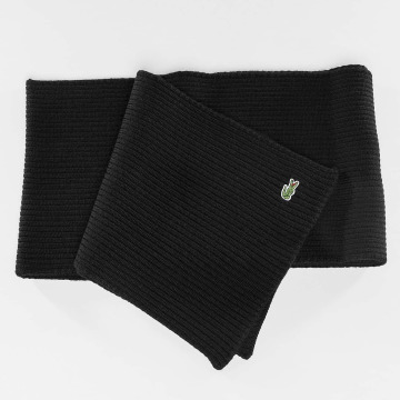 Lacoste Classic Echarpe Knitted noir