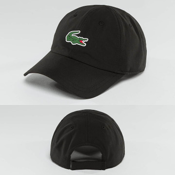 Lacoste Classic Snapback Caps Logo musta