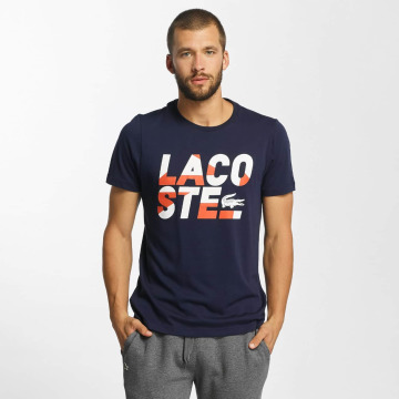 Lacoste Classic T-Shirt Kroko blue