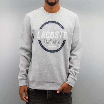 Lacoste Classic trui Logo grijs