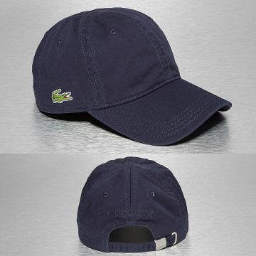 Lacoste snapback cap Gabardine Croc Strapback Cap blauw