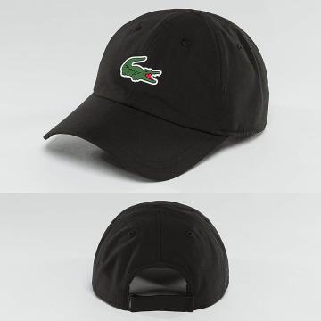 Lacoste snapback cap Logo zwart