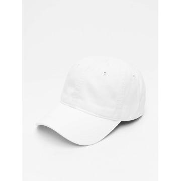 Lacoste Snapback Caps Gabardine Croc bílý
