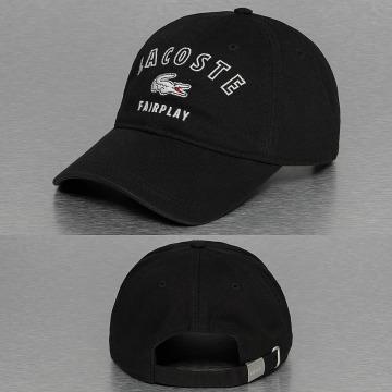 Lacoste Snapback Caps Faiplay svart