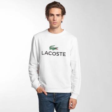 Lacoste Swetry Classic bialy