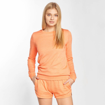 Lacoste Swetry Classic pomaranczowy