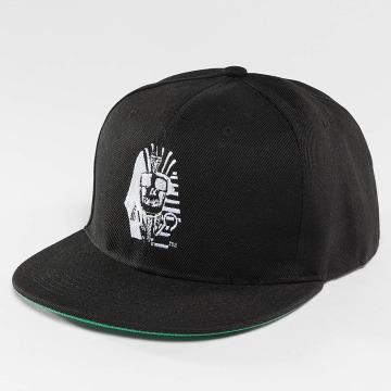 Last Kings Snapback Cap Pharaoh Skull black