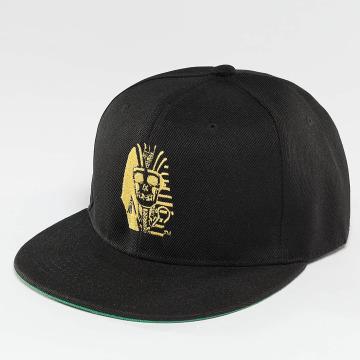 Last Kings Snapback Cap Pharaoh Skull schwarz