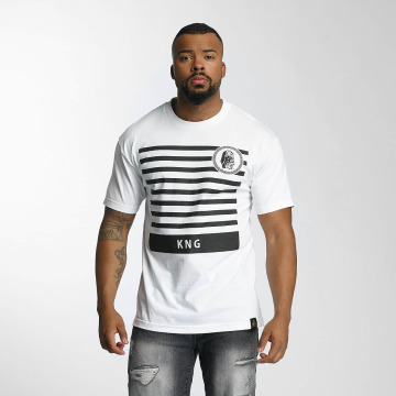 Last Kings T-Shirty KNG bialy