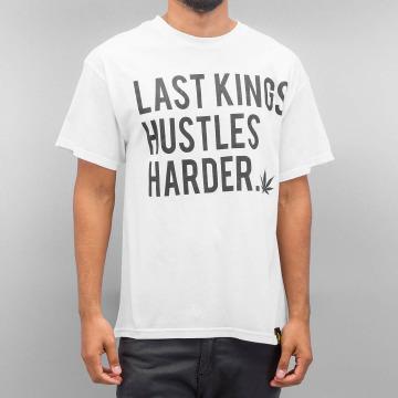 Last Kings T-skjorter Hustle Hard hvit
