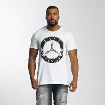 Last Kings T-skjorter B Benz hvit
