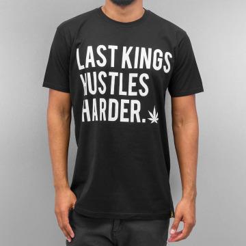 Last Kings T-skjorter Hustle Hard svart