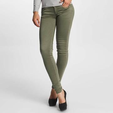 Le Temps Des Cerises Jeans ajustado Ultrapower caqui