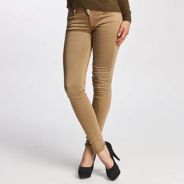 Le Temps Des Cerises Jeans ajustado Ultrapower marrón