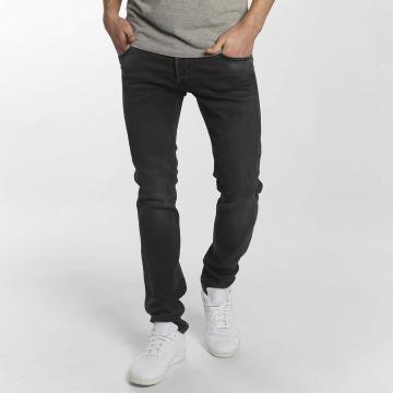 Le Temps Des Cerises Jeans straight fit 700/11 Basic nero