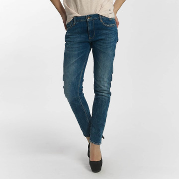 Le Temps Des Cerises Straight fit jeans 200/43 Royal blauw