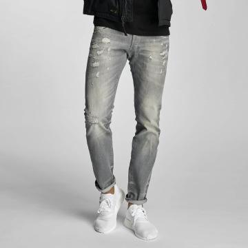Le Temps Des Cerises Straight fit jeans 711 Mark grijs