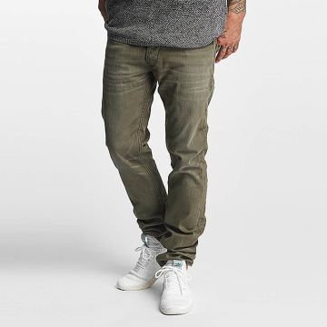 Le Temps Des Cerises Straight Fit Jeans 711 Basic khaki