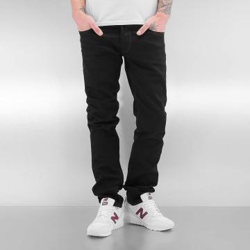 Le Temps Des Cerises Straight Fit Jeans 711 Basic svart