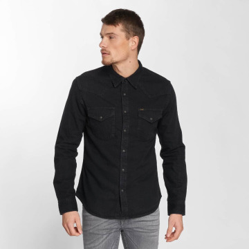 Lee overhemd Western zwart