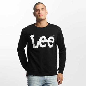 Lee Pullover Logo schwarz