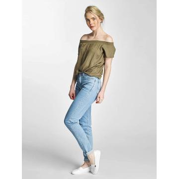 Lee Slim Fit Jeans Croppend Tapered blå