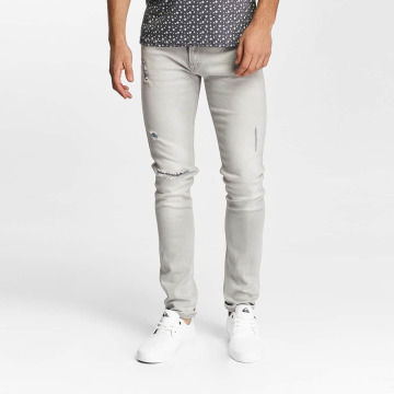 Lee Slim Fit Jeans Luke grigio