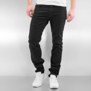 Lee Straight Fit Jeans Rider svart