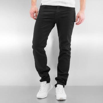 Lee Straight fit jeans Rider zwart