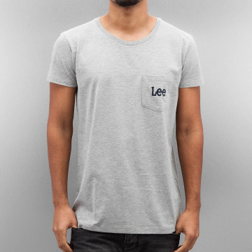 Lee t-shirt Pocket grijs