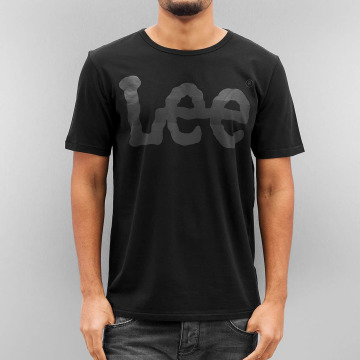 Lee t-shirt Seasonal Logo zwart