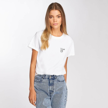 Lee T-Shirty Walte bialy