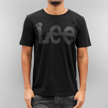 Lee T-Shirty Seasonal Logo czarny