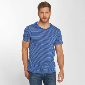 Lee T-Shirty Core Stripe niebieski