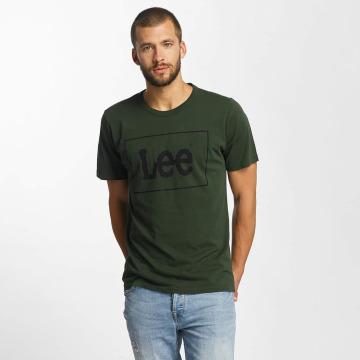 Lee T-Shirty Lee zielony