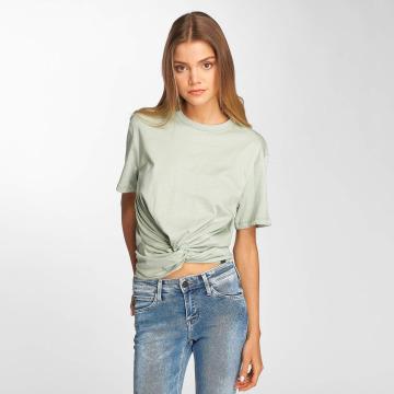 Lee T-skjorter Knotted grøn
