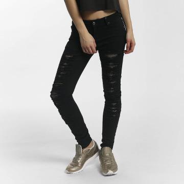 Leg Kings Jeans slim fit Mesh nero