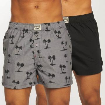 Levi's® Boksershorts Palm Tree Print 2-Pack svart