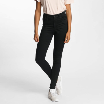Levi's® High Waisted Jeans Mile High Super Skinny èierna