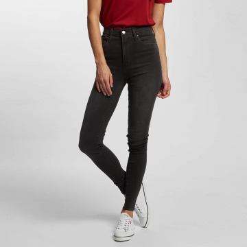 Levi's® High Waisted Jeans Mile High Super Skinny šedá